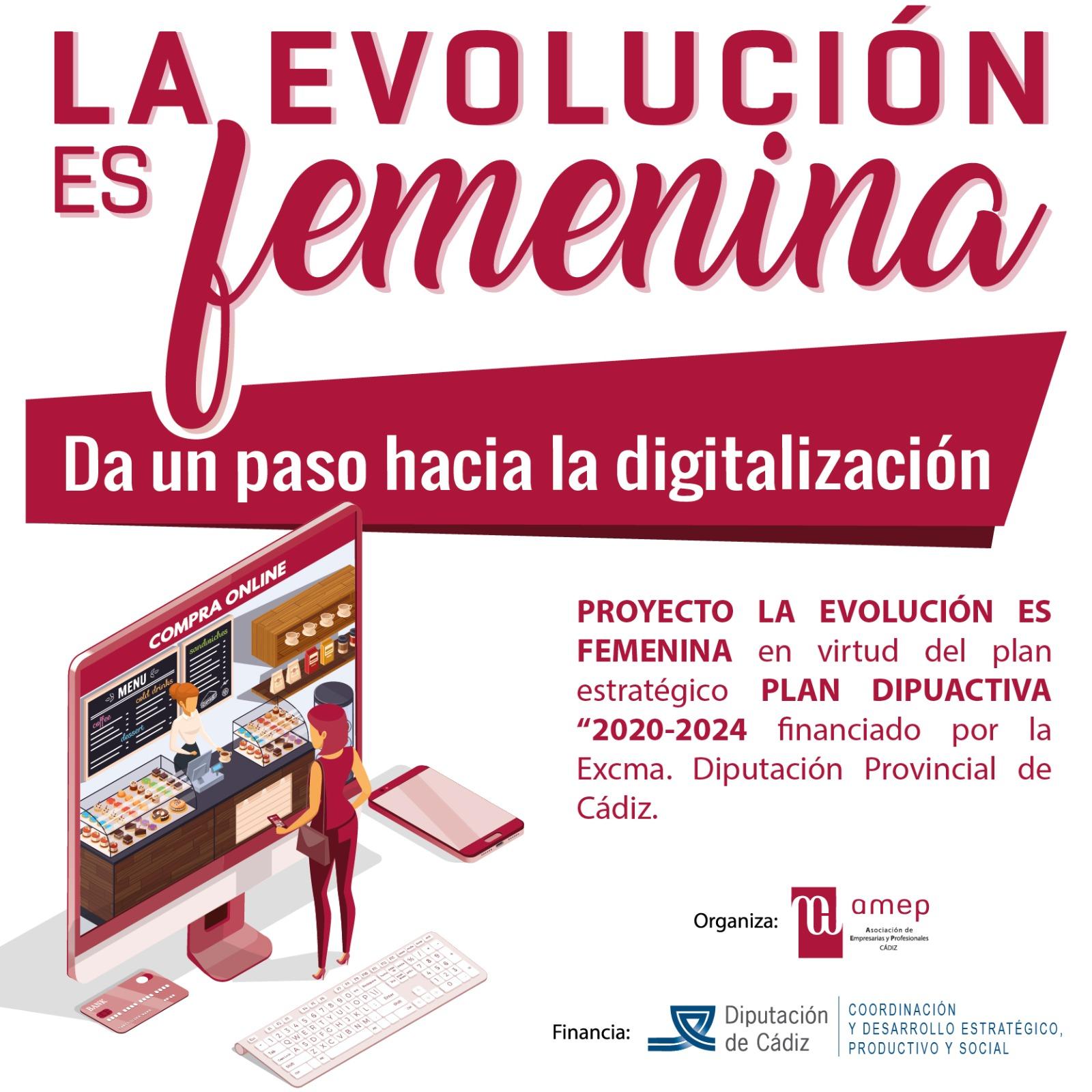 Programa de formación «La evolución es femenina»